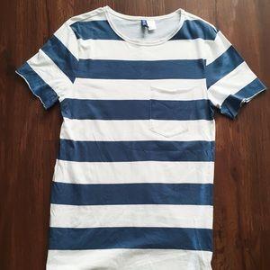 H&M Stripe T-Shirt